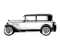 Classic Cars Adult Coloring Book 2 Vintage Automobiles 1920