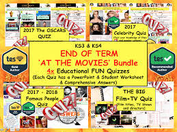 Halloween Trivia Questions And Answers For Adults by 2017 Big Film U0026 Tv Quiz Movies Quiz 8 Rounds And 50 Qs