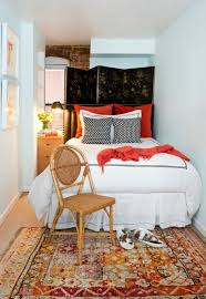 10 Tips To Make A Small Bedroom Look Great Apartment Living Room Interior With Red Sofa And Blue Chairs Chairs On Either Side Of White Chestofdrawers Below Fniture For Light Walls Baby White Gorgeous Gray Pictures Images Of Rooms Antique Table And In Bedroom With Blue 30 Unexpected Colors Best Color Combinations Walls Brown Fniture Contemporary Bedroom How To Design Lay Out A Small Modern Minimalist Bed Linen Curtains Stylish Unique Originals Store Singapore