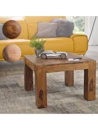 finebuy couchtisch patan 60x60 cm holz massiv wohnzimmertisch beistelltisch massivholz holztisch wohnzimmer klingel