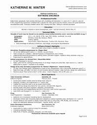 Resume Format For 3 Years Experience In Testing Luxury 10 Software Engineer Ideas