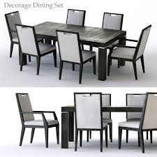 3D Bernhardt Decorage Dining Set | CGTrader 68 Off Bernhardt Gray Deco Ding Chairs Fniture Table And Eight For Sale At 1stdibs Santa Bbara Vintage Room Modern Antique Set Chairish Bernhardt Fniture Chippendale Style Side Chair 2385556 90 With Extension Leaf Best With 2 Leaves And 8 For Sale In Sutton House Items Decorage 7 Piece Rectangular Patina Dresser Tobacco Finish North