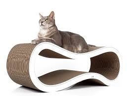 cat on design cat scratch post singha l handmade design carboard cat