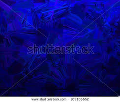 Abstract Blue Background Design With Glassy Vintage Grunge Texture And Black Grungy Color Splashes For