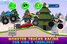 100 Kids Monster Trucks Game For 2 For Android APK Download