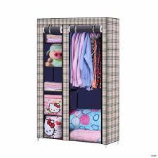 Portable Clothes Closet Wood6 Wheels Woody 6f Storage Ideas