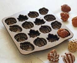 Nordic Ware Pumpkin Loaf Pan Recipe by Nordic Ware Bronze Fall Cakelet Pan Baking Bites
