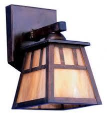 arts and crafts interior exterior lighting
