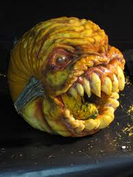 Mike Wazowski Pumpkin Design by Think You Have The Scariest Pumpkins On The Block This Man Has