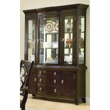MEREDITH BUFFET AND HUTCH SET IN ESPRESSO