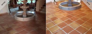 scottsdale saltillo tile cleaning desert tile grout care