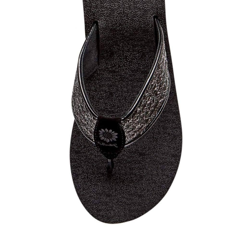 Yellow Box Sierra Black Flip Flop Sandal 9