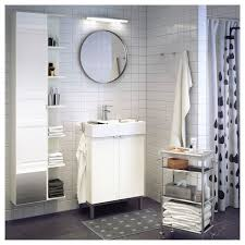 lillången high cabinet with mirror door white 113 4x81
