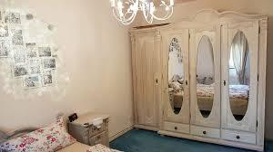 massivholz schlafzimmer im landhausstil weiß lasiert kiefer