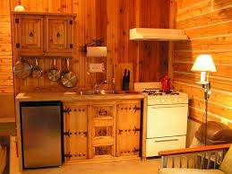Small Log Cabin Kitchen Ideas by Tiny Cabin Kitchen Kitchen Maximizes The Available Space