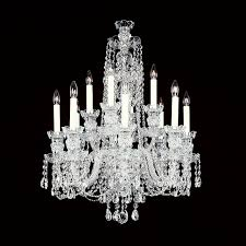 Swarovski Crystal Lamp Finials by 8 4 Small 12 Light Crystal Chandelier With Swarovski 22