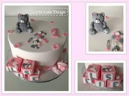 gâteau petit ourson pâte à sucre cirta cake design gâteau en