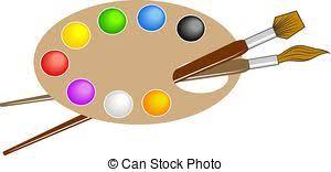 Artistic Clipart Art Palette 8