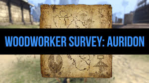 eso woodworker survey auridon youtube