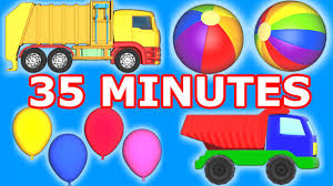 100 Garbage Truck Video Youtube Binkie TV Compilation Balls Monster