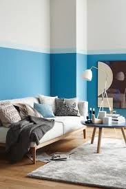 trendfarbe pool schöner wohnen farbe moderne wohnzimmer blau