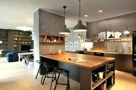 cuisine avec ilots meuble sacparation cuisine ilot table cuisine cuisine avec arlot
