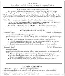Perfect Resume Template Word Free For Examples Professional Skills References Accomplishments