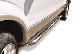 3 In. Round Classic Side Bars, Big Country Truck Accessories, 372234 ...