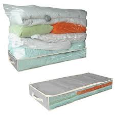 housse de rangement sous vide pour dessous de lit maison futée