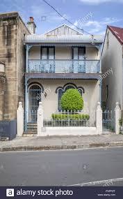 100 Terrace House A Typical Terrace House In Sydney Australia Stock Photo 217474755