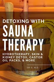 does sauna therapy hydrotherapy help you detox dr s
