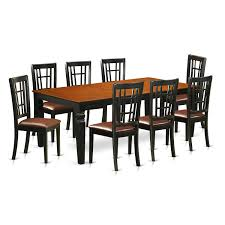 Darby Home Co Beesley 9 Piece Black/Cherry Wood Dining Set | Wayfair Shop Plainville Black Cherry Wooden Seat Ding Chair Set Of 2 Parawood Fniture Parfait The Simple Wood British Isles Napoleon Side Woodstock Mattress 30 Beautiful Photo Room Blackcherry Finish Rubberwood Table With 4 Terrific Decoration Using Rectangular Dark Wood Ding Chair Black Cherry Florida Ft Lauderdale Miami Dch1001fset2 Chairs By Safavieh Circle Ingrid