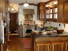 Small Narrow Kitchen Ideas by Narrow Kitchen Ideas Modern Deco Kitchen Reveal Emily Henderson