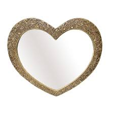 Wayfair Decorative Wall Mirrors by Mirror Selections Chaumont Marrakesh Heart Wall Mirror Reviews
