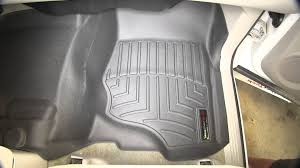 Weathertech Floor Mats 2015 F250 by Review Of The Weathertech Front Floor Mat On A 2008 Gmc Sierra