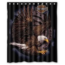 Harley Davidson Bath Decor by Harley Davidson Shower Curtains 71 Cool Ideas For Harley Davidson