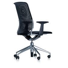 chaise de bureau vitra chaise de bureau contemporaine à roulettes avec accoudoirs