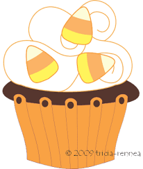 Cupcake clipart image blue and pink cupcakes 8