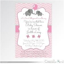 Elephant Baby Shower Invitations Free Drawing Apem