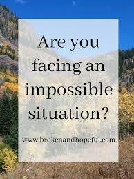 How Does Jesus Life Allow Us To Deal With The Impossible Situations Of Our Lives Christian Women BlogsDevotional