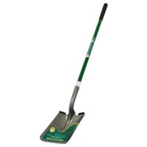 MintCraft Ergo Fiberglass Shovel - Long Handle, Square Point