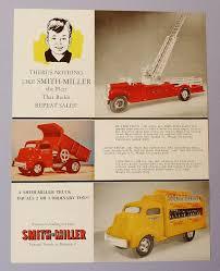 100 Smith Miller Trucks ORIGINAL 1954 SMITH MILLER FACTORY COLOR SALES SHEET GMC BMACK