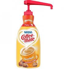 Nestle Professional 31831 Coffee Mate Liquid Pump Flavored Creamer