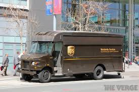 100 Who Makes Ups Trucks UPS Now Lets You Track Packages For Real On An Actual Map The Verge