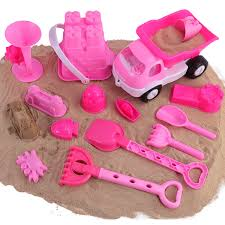 Liberty Imports Pink Princess Castle Beach Set Toy For Girls ...