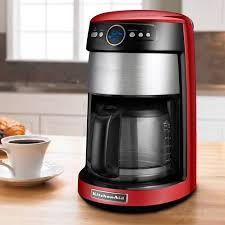 Get Quotations KitchenAid 14 Cup Glass Coffee Maker Empire Red