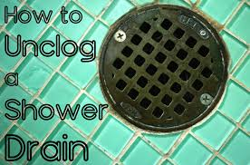 Unclogging A Stubborn Bathtub Drain by How To Clear A Clogged Shower Drain 8 Methods Dengarden