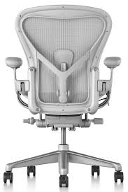 Herman Miller Updates Iconic Aeron Office Chair Herman Miller Aeron Remastered Chair Review Classic Size B Posture Fit Size As A Remodel Of Mirra Chairs Recline Further Than Its Model Nickel Office Outlet Arm Removal Office Chair Pneumatic Gas Cylinder 7 Quot Certified Preowned Stool Counter Height Cj Living Eames Lounge And Ottoman On Risd Portfolios Quivellum Lounge Fniture Sensational Chairs Costco For Home