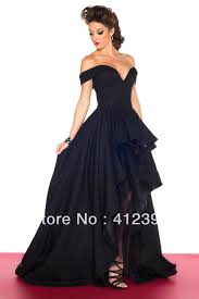 popular blue evening dress short in front and long in back buy