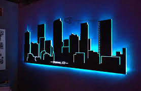 wall designs led wall wall design ideas branches